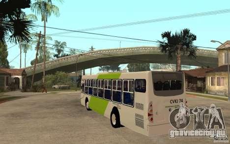Caio Induscar Mondego Transantiago для GTA San Andreas вид сзади слева