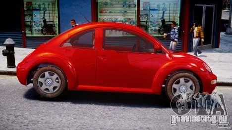 Volkswagen New Beetle 2003 для GTA 4 вид сзади