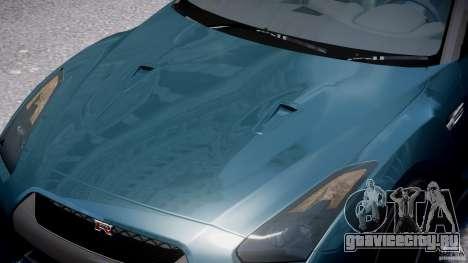 Nissan GTR R35 SpecV v1.0 для GTA 4 салон