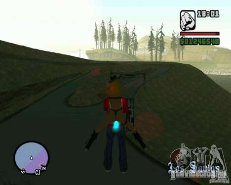 Ebisu Touge для GTA San Andreas третий скриншот