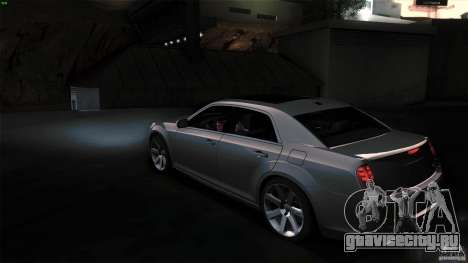 Chrysler 300C V8 Hemi Sedan 2011 для GTA San Andreas вид справа