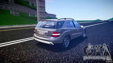 Mercedes-Benz ML 500 v1.0 для GTA 4 вид сбоку