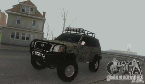 Toyota Land Cruiser 100 Off Road для GTA San Andreas