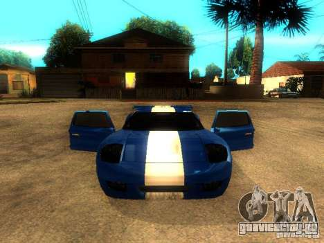 Bullet GT Drift для GTA San Andreas вид справа