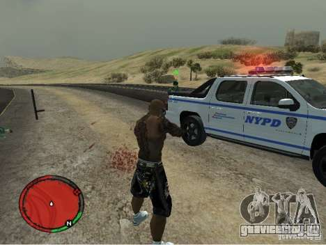 GTA IV HUD v1 by shama123 для GTA San Andreas третий скриншот