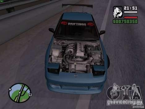 Nissan 180SX для GTA San Andreas вид справа