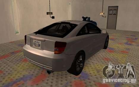 Toyota Celica 2JZ-GTE для GTA San Andreas вид слева