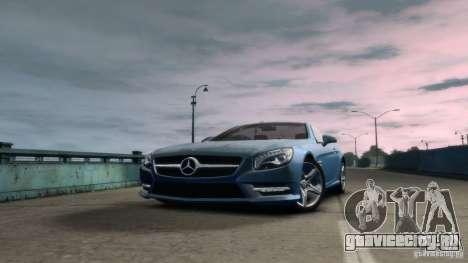 Mercedes-Benz SL 350 2013 v1.0 для GTA 4 вид сзади слева