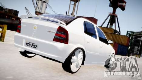 Chevrolet Astra Advantage 2009 для GTA 4 вид справа