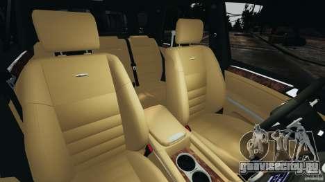 Mercedes-Benz ML63 (AMG) 2009 для GTA 4 вид изнутри