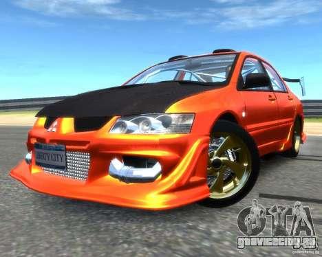Mitsubishi Lancer Evolution IX MR для GTA 4
