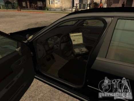 Chevrolet Impala Undercover для GTA San Andreas вид сзади слева