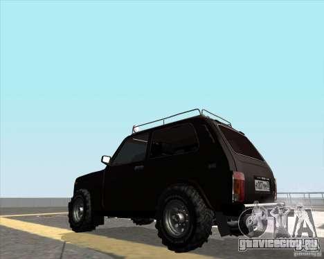 ВАЗ 21213 Offroad для GTA San Andreas вид слева