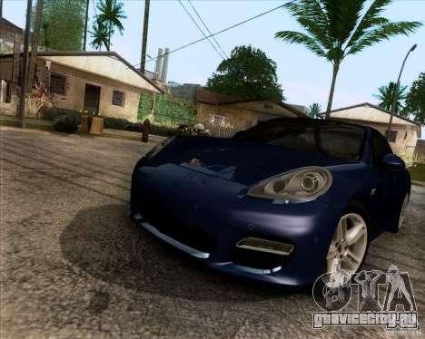 Porsche Panamera Turbo 2010 Final для GTA San Andreas вид справа