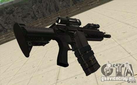 Автоматическая винтовка HK416 для GTA San Andreas второй скриншот