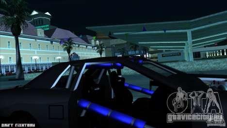 Elegy hard для GTA San Andreas вид изнутри