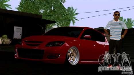 Mazda Speed 3 для GTA San Andreas вид слева