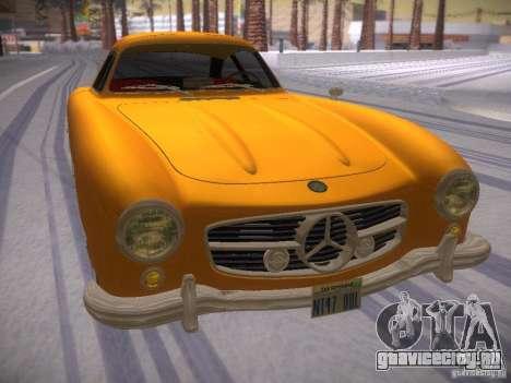 Mercedes-Benz 300SL для GTA San Andreas вид справа