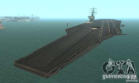 CVN-68 Nimitz для GTA San Andreas