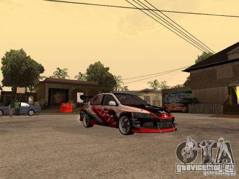 Mitsubishi Lancer Evolution 8 GReddy для GTA San Andreas вид справа