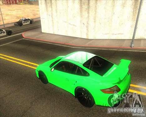 Porsche 911 GT2 (997) black edition для GTA San Andreas