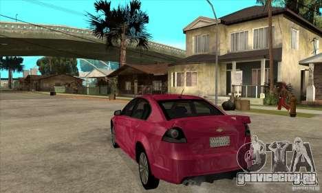 Chevrolet Lumina SS для GTA San Andreas вид сзади слева