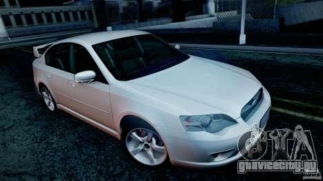 Subaru Legacy 2004 v1.0 для GTA San Andreas колёса