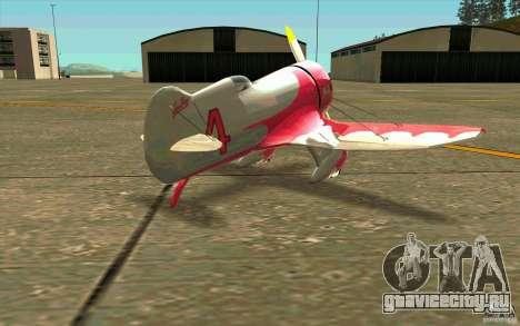 GeeBee typeZ для GTA San Andreas вид справа