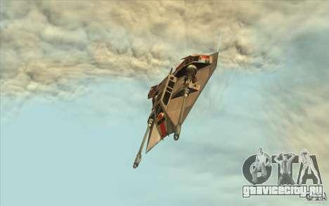 T-47 Snowspeeder для GTA San Andreas вид справа