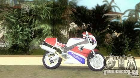 Yamaha FZR 750 original plain для GTA Vice City вид слева