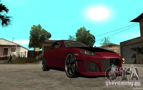 Mazda RX-8 Time Attack JDM для GTA San Andreas вид сзади