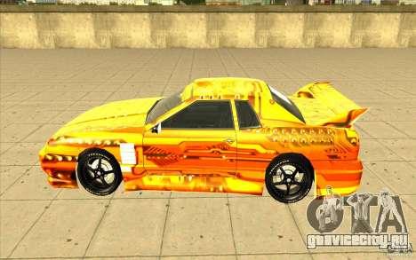 Elegy Plato для GTA San Andreas вид сверху
