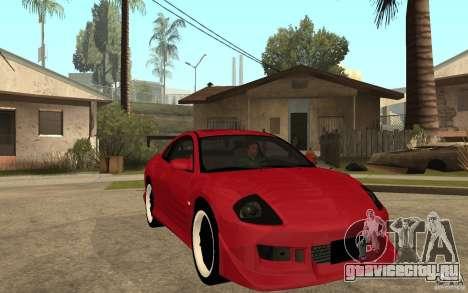 Mitsubishi Eclipse 2003 V1.0 для GTA San Andreas вид сзади