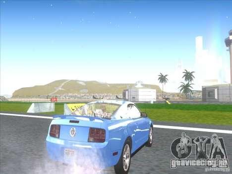 Ford Mustang Pony Edition для GTA San Andreas вид справа