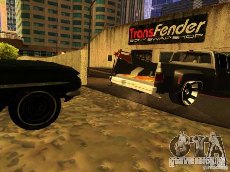 Chevrolet Silverado Towtruck для GTA San Andreas вид сбоку