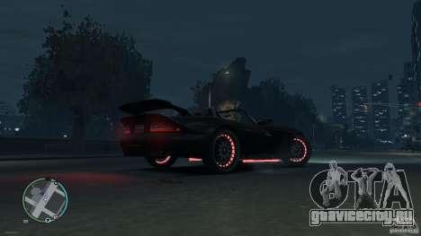 Red Neon  Banshee для GTA 4 вид слева