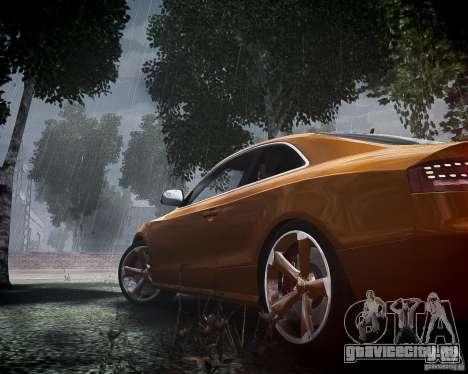 Audi RS5 2010 для GTA 4 вид сбоку