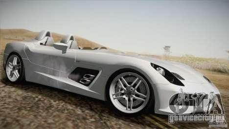 Mercedes-Benz SLR Stirling Moss 2005 для GTA San Andreas вид снизу