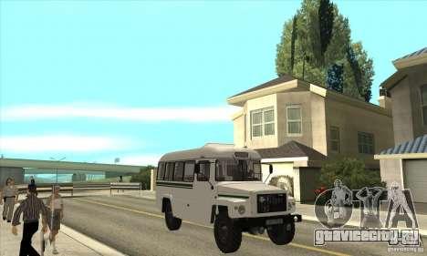 КАвЗ - 39766 для GTA San Andreas вид сзади