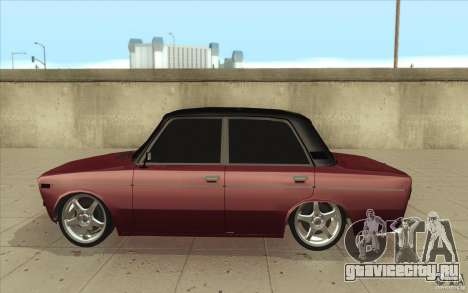 ВАЗ-2106 Lada для GTA San Andreas вид слева