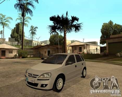 Opel Corsa C для GTA San Andreas