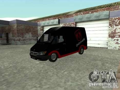 Dodge Sprinter Van 2500 для GTA San Andreas