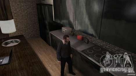 Домашний свитер с воротником для GTA 4 второй скриншот