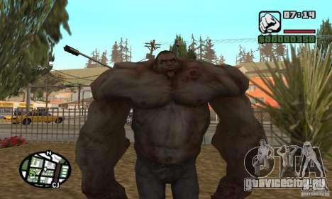 Танк из Left 4 Dead для GTA San Andreas
