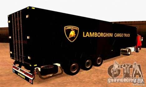 Lamborghini Cargo Truck для GTA San Andreas вид слева