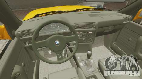 BMW M3 E30 v2.0 для GTA 4 вид сверху
