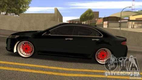 Acura TSX Doxy для GTA San Andreas вид слева