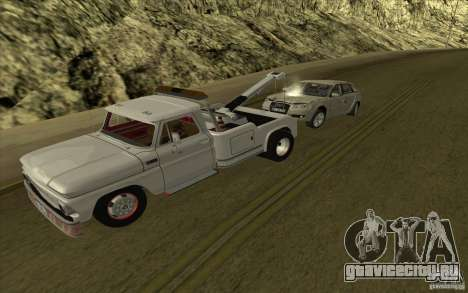 Chevrolet Эвакуатор для GTA San Andreas вид слева
