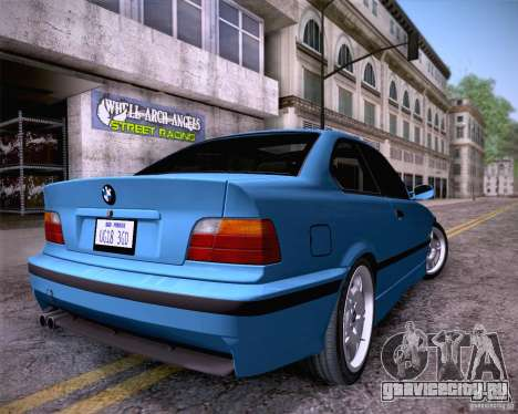 BMW M3 E36 1995 для GTA San Andreas вид слева