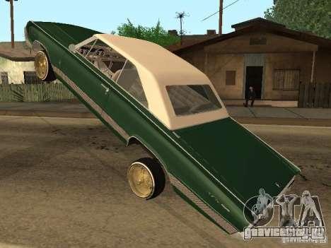 Mercury Park Lane Lowrider для GTA San Andreas вид сзади